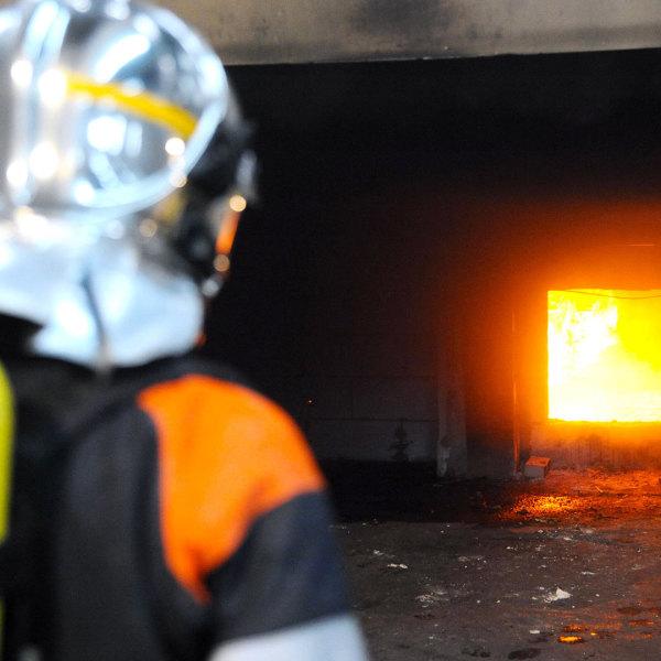 Feuer Feuerwehrmann